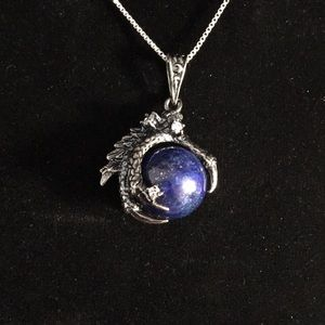 Jewelry - Lapis Lazuli Sphere in Dragons Claw